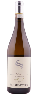 Vin alb Fossili di Gavi DOCG 2019 Sansilvestro