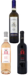 Vin pachet 3 sticle 2015 Il Conte Villa Prandone 750 ml