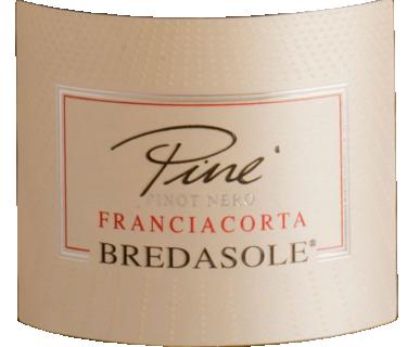 Eticheta Vin spumant Franciacorta rose Pine 2018 Bredasole