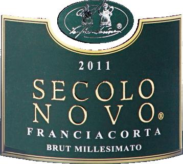 Eticheta Franciacorta Secolo Novo 2011 Le Marchesine