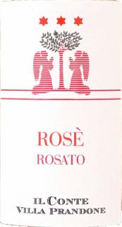 Eticheta Rosato Marche IGP 2018 Il Conte Villa Prandone