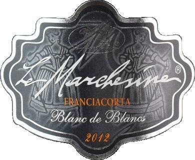 Eticheta Franciacorta Blanc de Blancs Millesimato 2012 Le Marchesine
