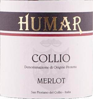 Eticheta Collio merlot DOC 2010 Humar