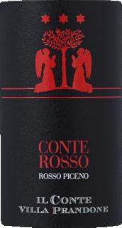 Eticheta Conterosso Rosso Piceno 2019 Il Conte Villa Prandone