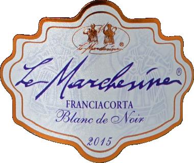 Eticheta Franciacorta Blanc de Noir Millesimato 2015 Le Marchesine