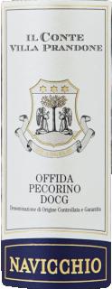 Eticheta Offida Pecorino Navicchio DOCG 2019 Il Conte Villa Prandone