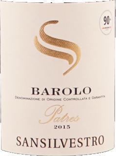 Barolo Patres DOCG 2015 Sansilvestro eticheta