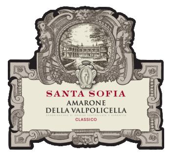 Amarone della Valpolicella classico DOCG 2015 Santa Sofia Magnum - eticheta