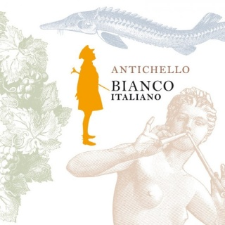 Eticheta Antichello Bianco Italiano 2019 Santa Sofia