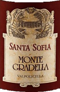 Eticheta MonteGradella Valpolicella DOC 2009 Santa Sofia