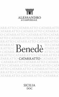 Benede Catarratto BIO 2017 Alessandro di Camporeale - eticheta