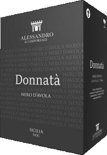 Donnata Nero d'Avola BIO DOC 2018 Alessandro di Camporeale - cutie 6 sticle