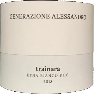 Trainara Etna Bianco DOC 2018 Alessandro di Camporeale eticheta