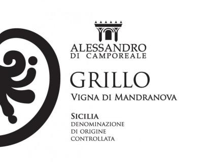 Grillo vigna di Mandranova 2019 Alessandro di Camporeale eticheta