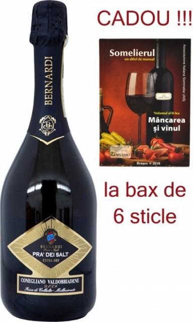 Prosecco Pra' dei Salt extra dry DOCG 2018 Bernardi - bax 6 sticle