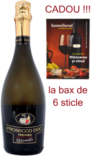 Prosecco extra dry Montasolo DOC 2017 Montelliana bax 6 sticle
