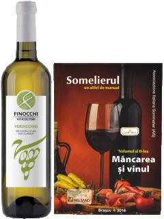 Verdicchio Classico DOC 2019 Finocchi + carte de asocieri culinare `Somelierul`