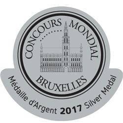 CONCOURS MONDIAL DE BRUXELLES 2017 SILVER